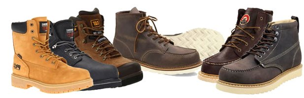 comfortable work boots