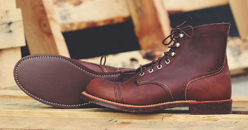 best work shoes - brown