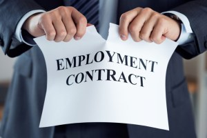 Contract of employment problem