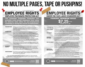 free california labor law posters