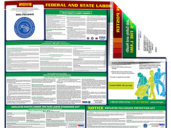 free oregon labor law posters available