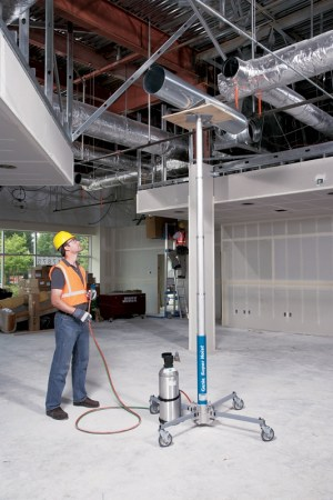 Genie GH56 Super Hoist Material Lift  Workplatform