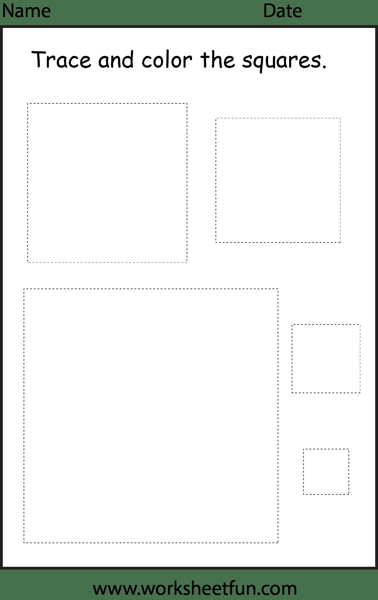 Preschool Shapes Worksheet Free Printable Worksheets