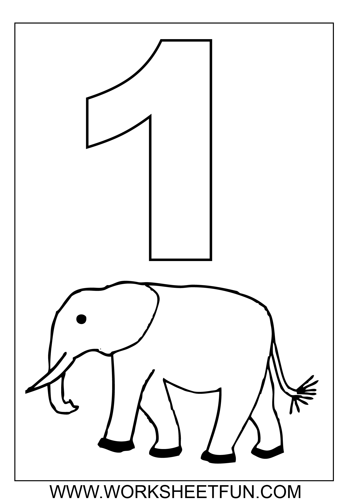 Number 10 Printable Worksheet