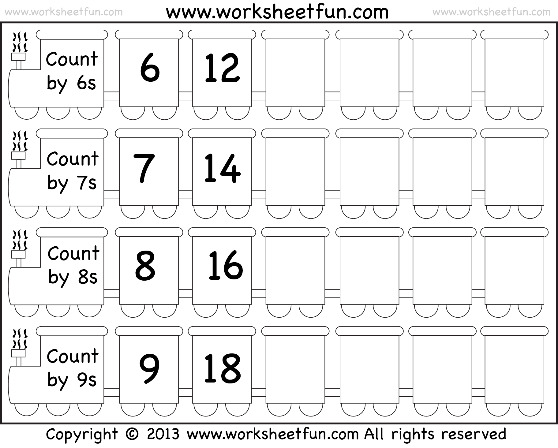 New 938 Skip Counting Worksheets Number Line