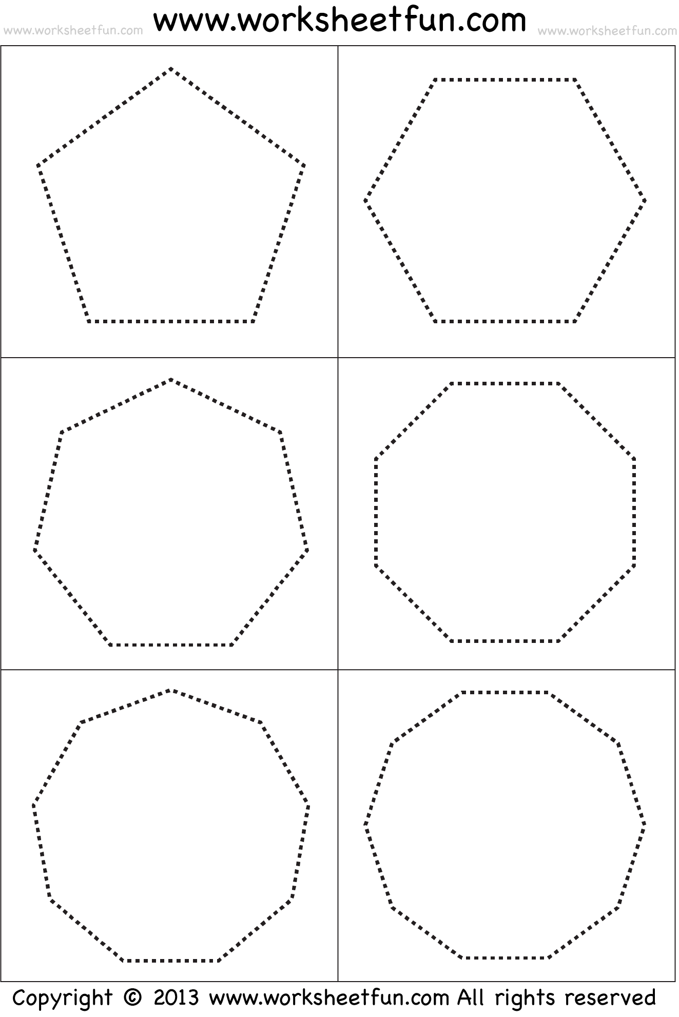 Worksheet Lines Of Symmetry Rectangle