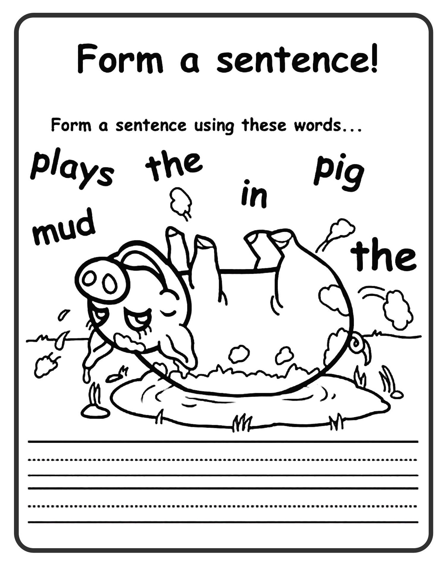 12 Good Examples Of 1st Grade Worksheets Free Download