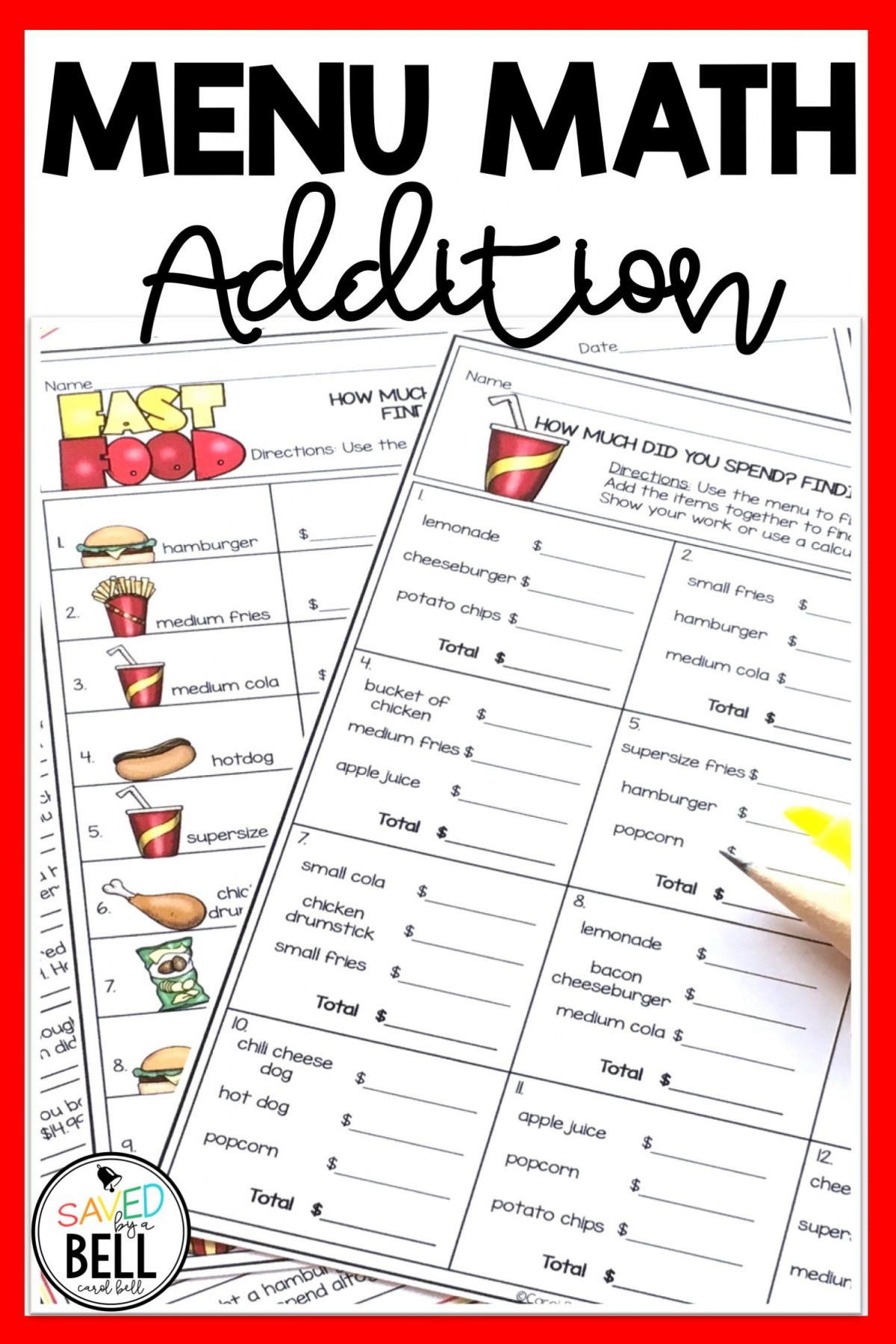 Fast Math Addition Worksheets