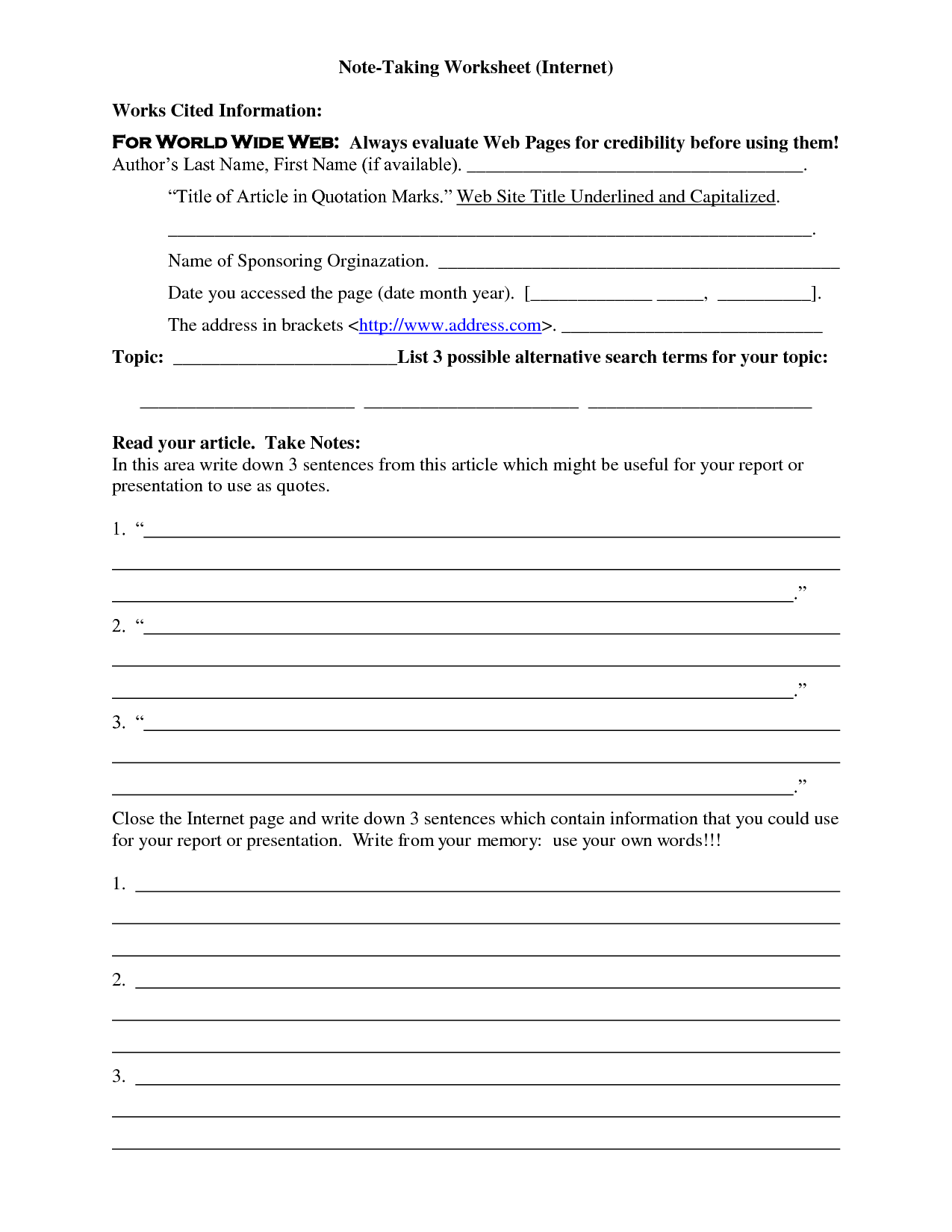 13 Best Images Of Book Titles Worksheet