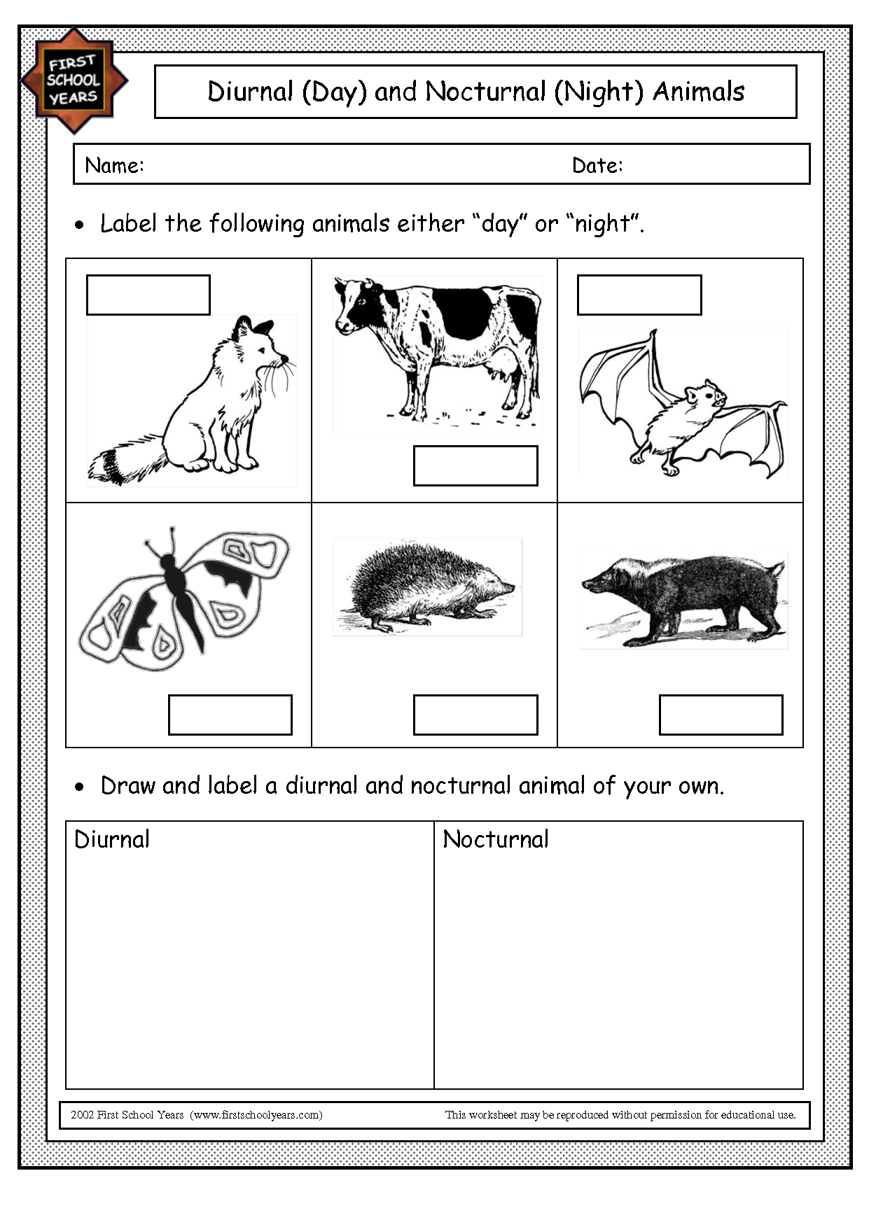 15 Best Images Of Classifying Animals Worksheets Preschool