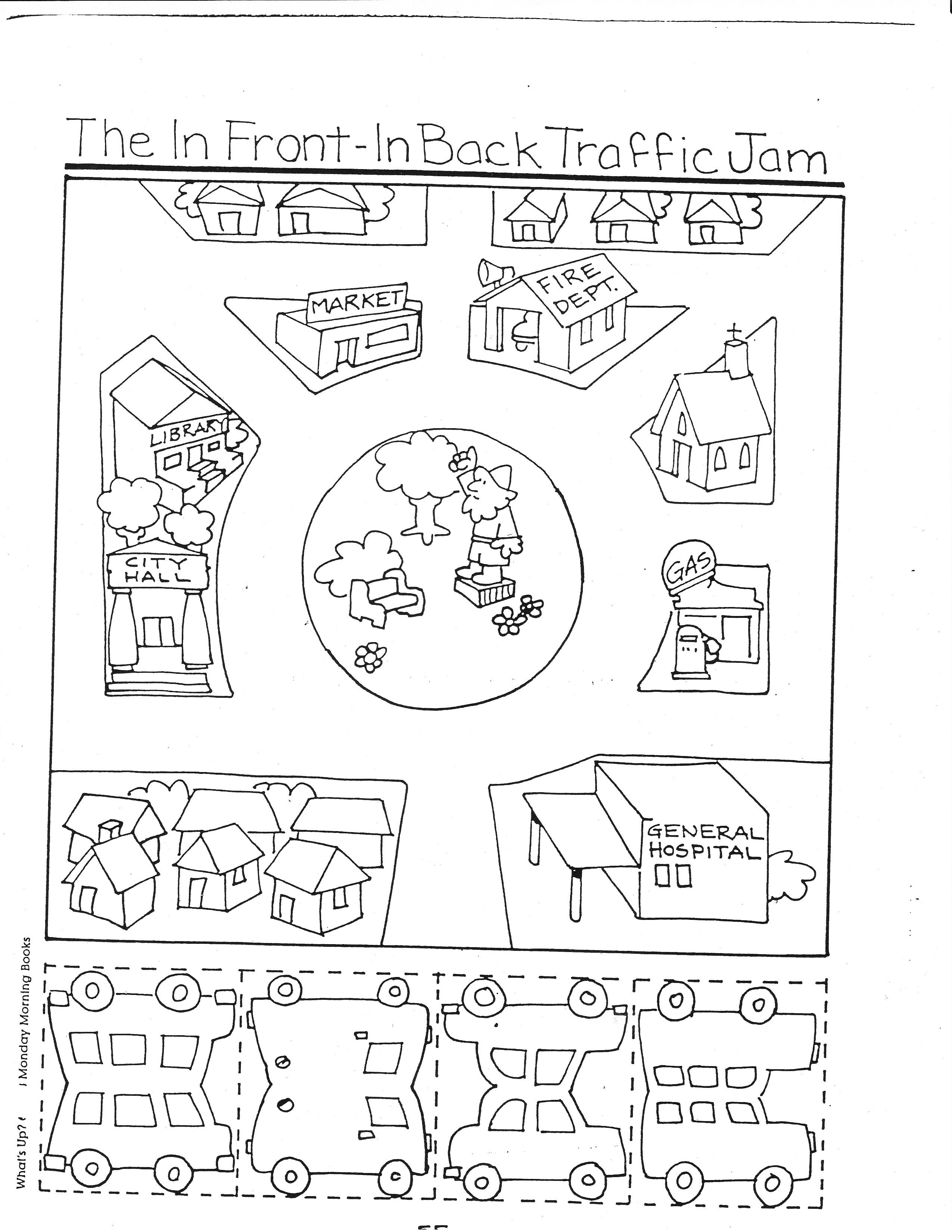 10 Best Images Of Kindergarten Map Worksheets