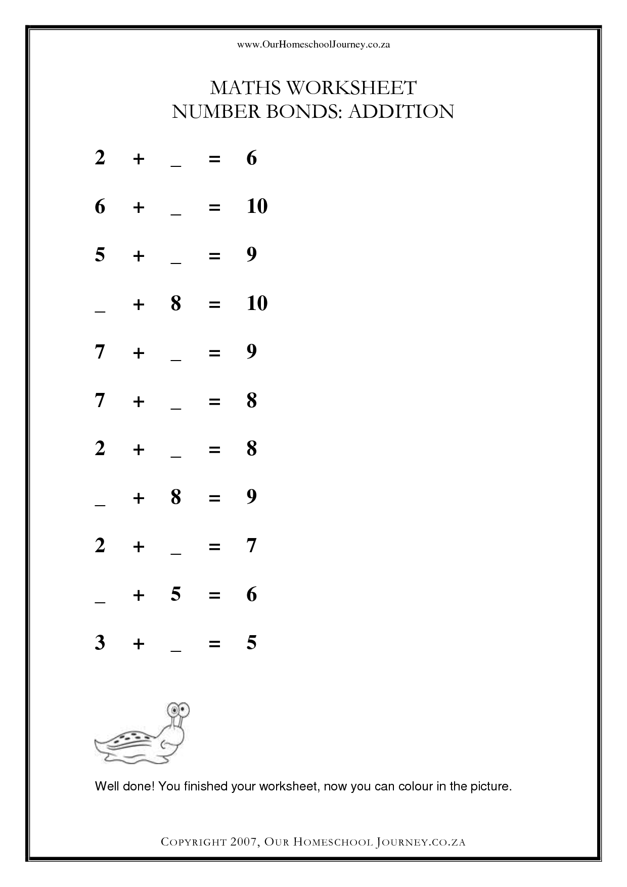 Multiplication Worksheet 10th