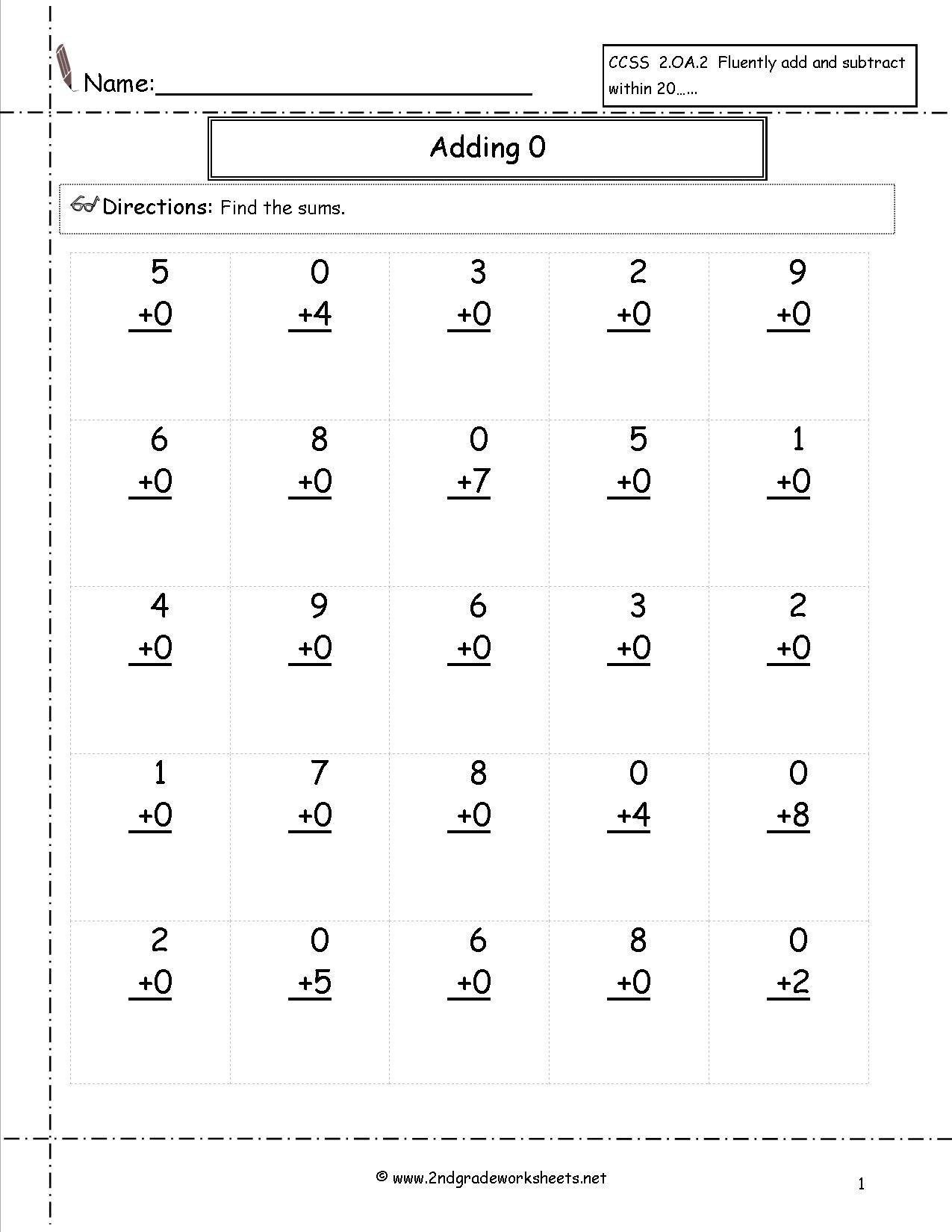 8 Best Images Of Free Printable Addition Worksheets Grade