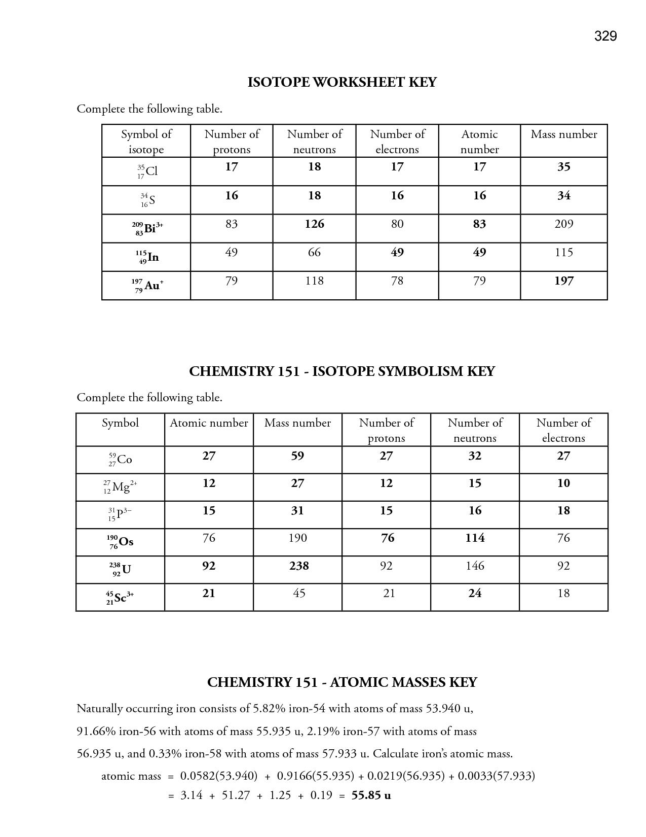 Bohr Model Practice Worksheet Answer Key