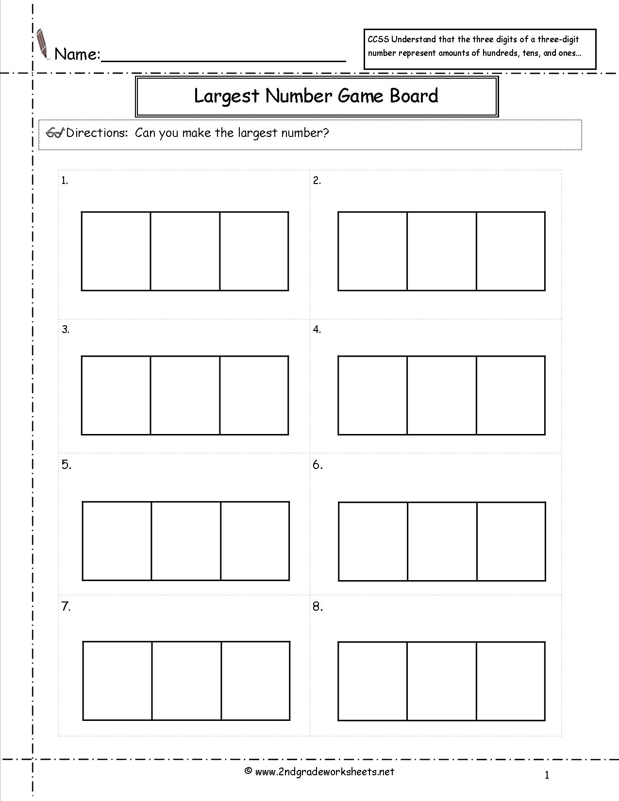 17 Best Images Of Expanded Form Worksheets 2nd Grade