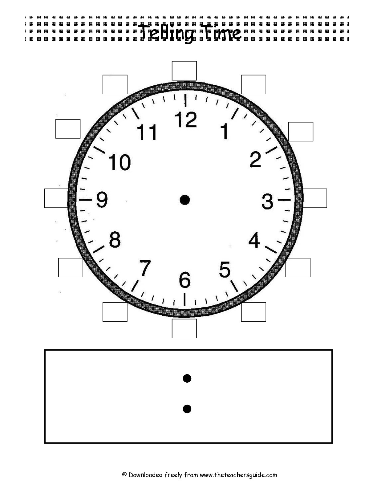 11 Best Images Of Matching Time Worksheets