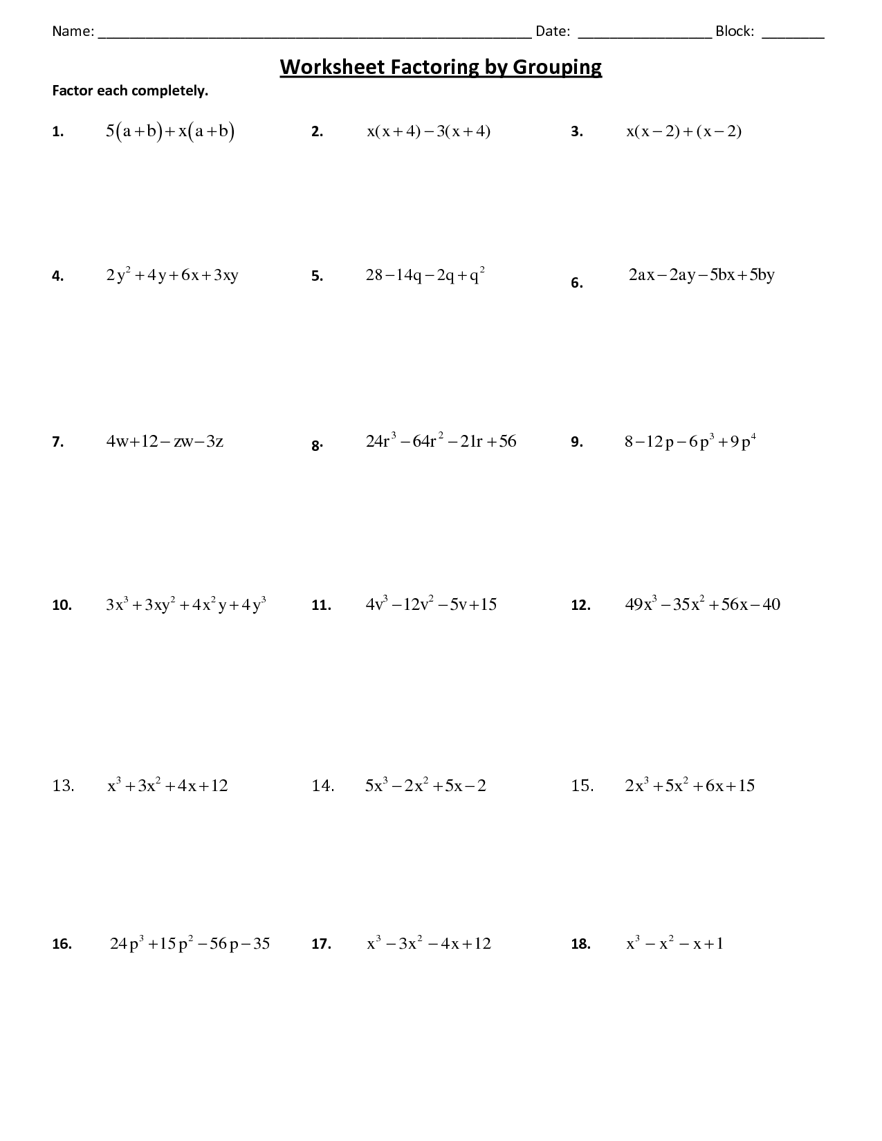 Other Worksheet Category Page 581