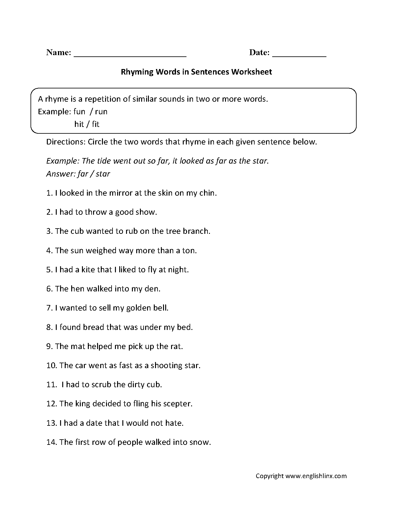 8 Best Images Of Worksheets Identifying Sentences And Fragments
