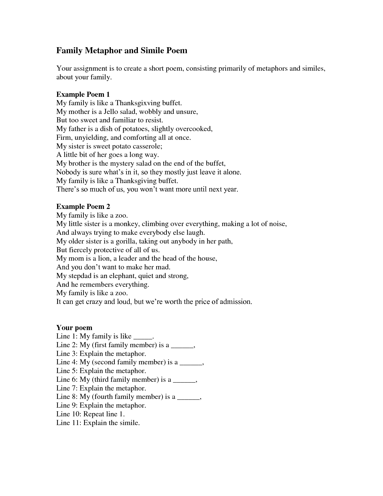Uncategorized Simile And Metaphor Worksheet worksheet metaphor northonjobs and essay simile worksheets for middle school free metaphors