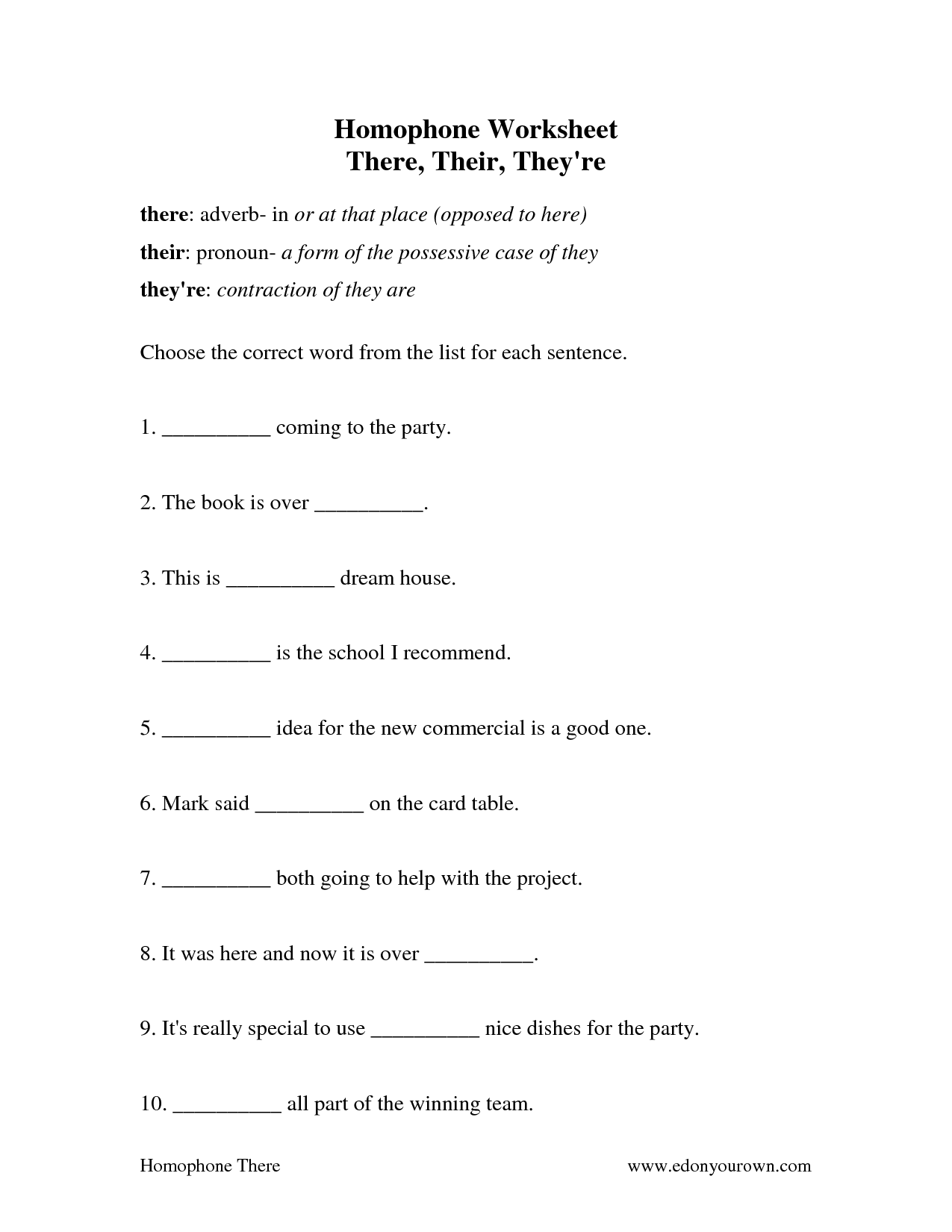 14 Best Images Of Author Study Worksheet