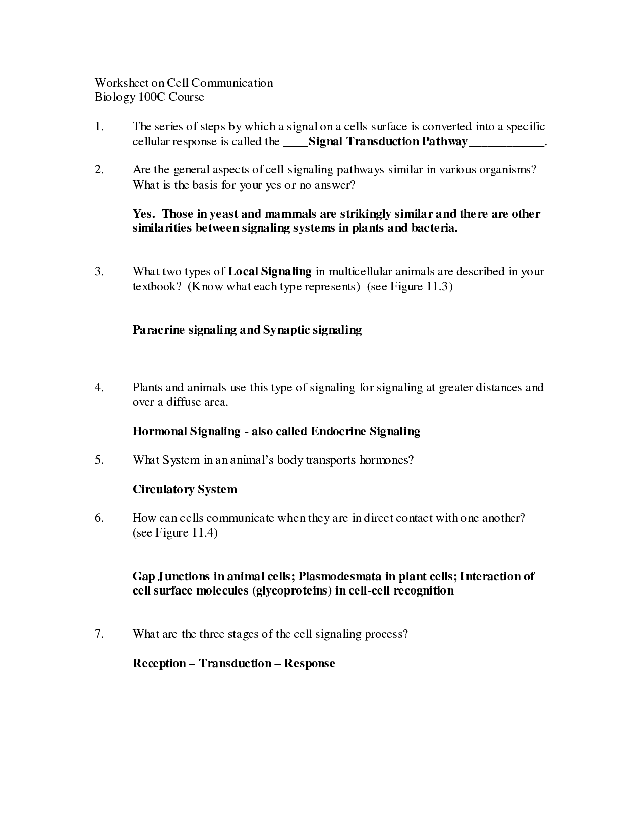14 Best Images Of 7th Grade Biology Worksheets