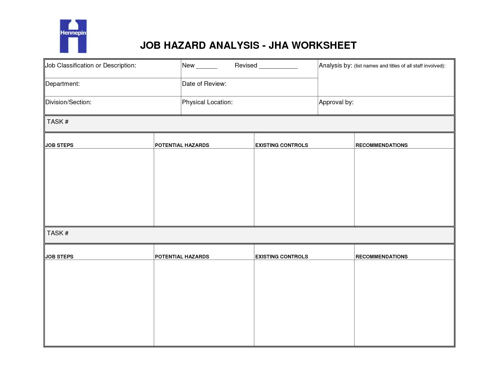 17 Best Images Of Task Worksheet Template