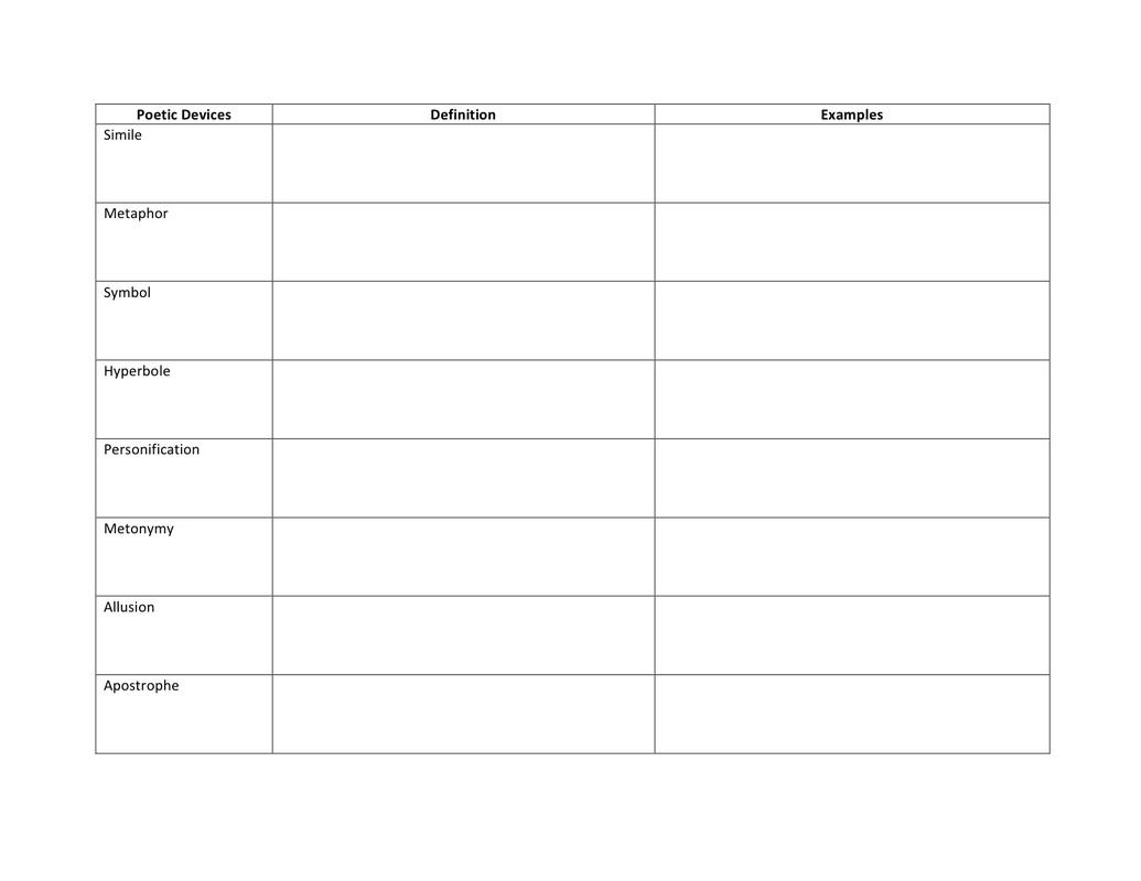 14 Best Images Of Identify Rhyme Scheme Worksheet