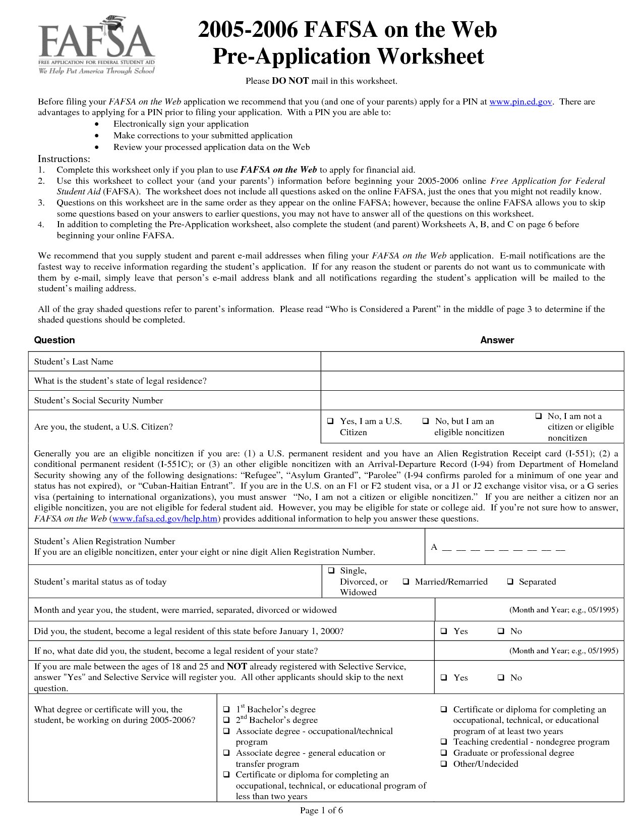 18 Best Images Of Blank Financial Worksheet Form