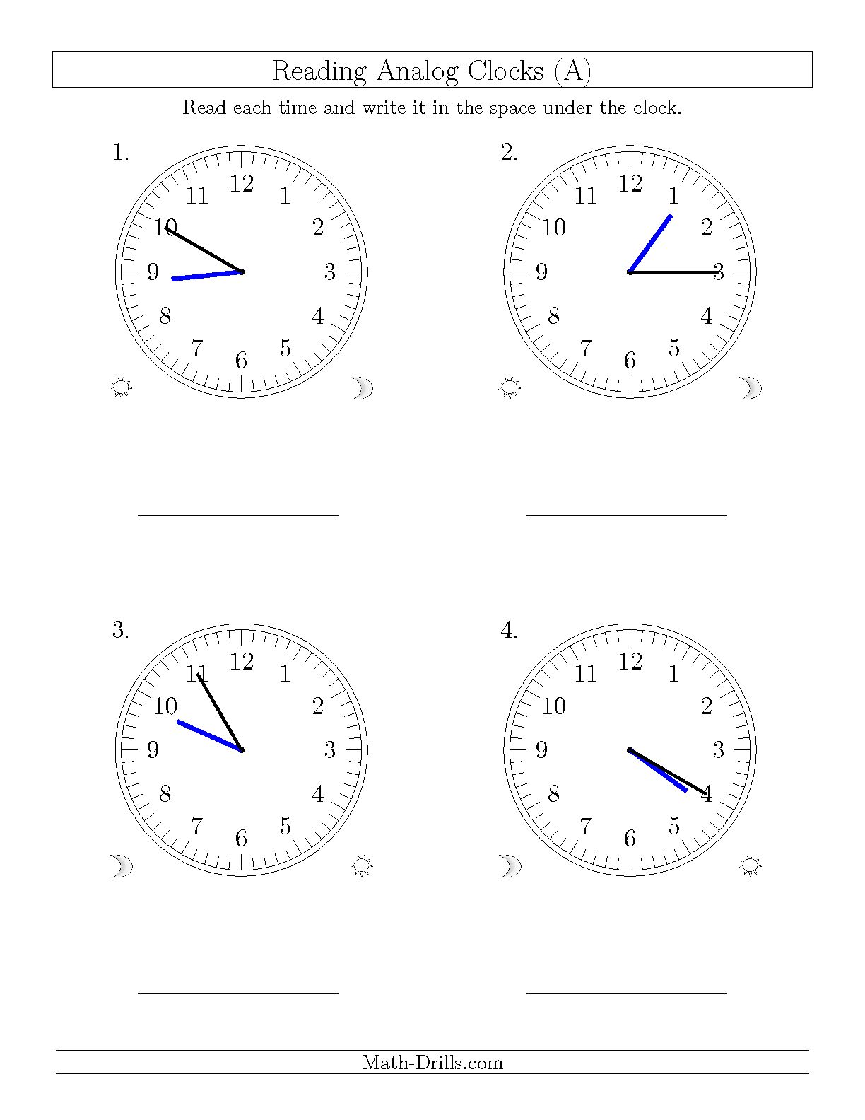 15 Best Images Of 5 Minute Time Intervals Worksheets