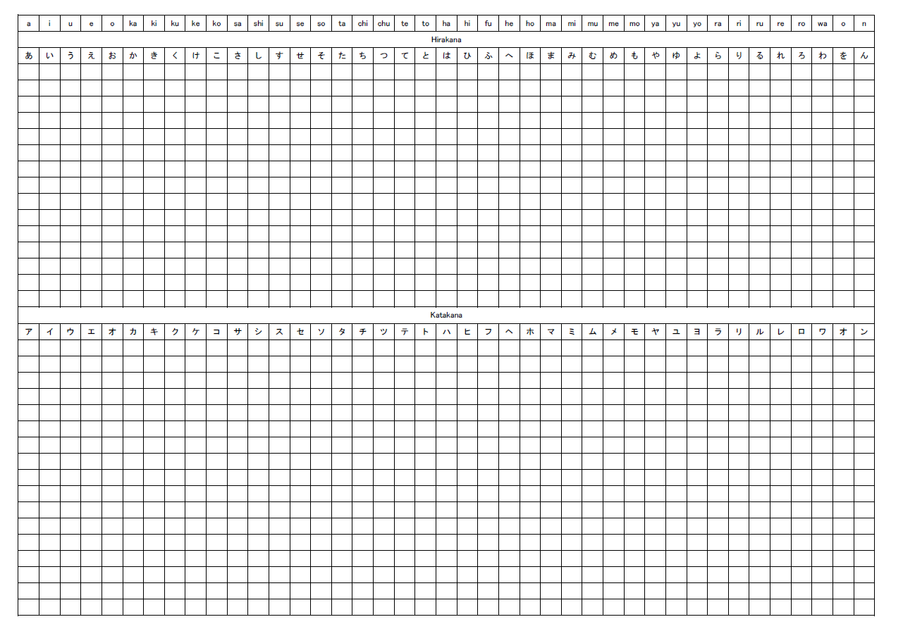 15 Best Images Of Japanese Practice Worksheets