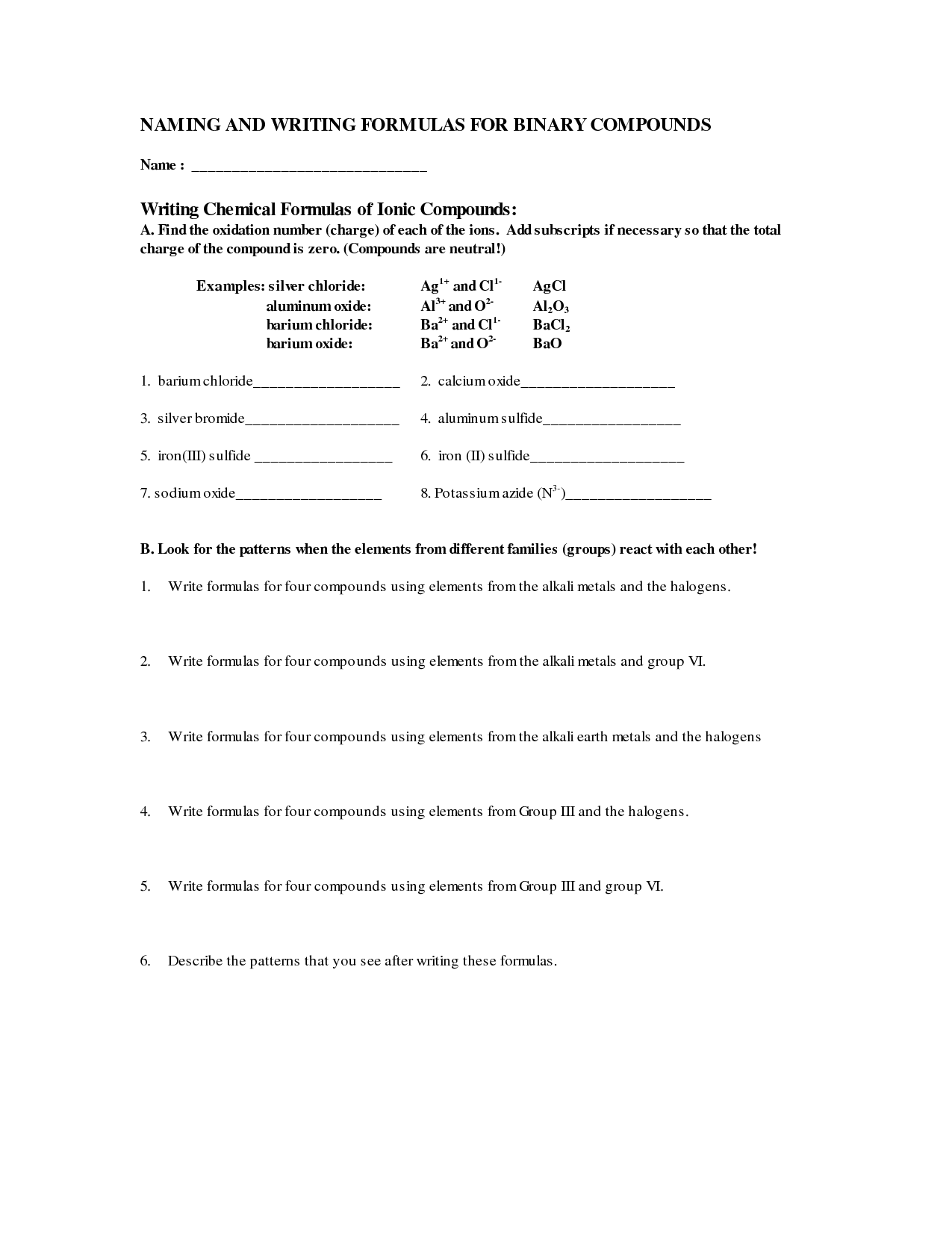 Writing Binary Formulas Worksheet Page 54