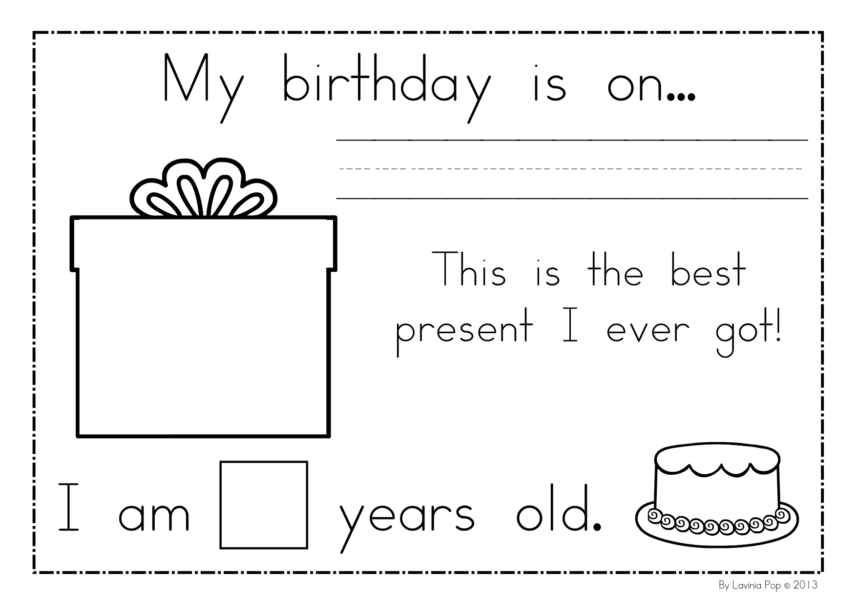 8 Best Images Of All About Me And My Family Worksheets