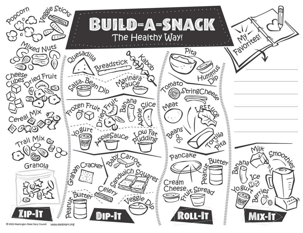 Preschool Nutrition And Food Coloring