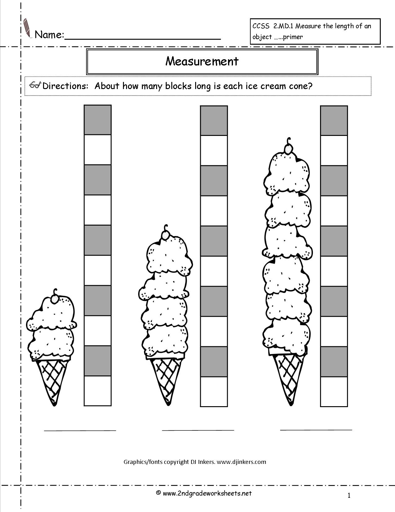 13 Best Images Of Common Units Of Measurement Worksheets