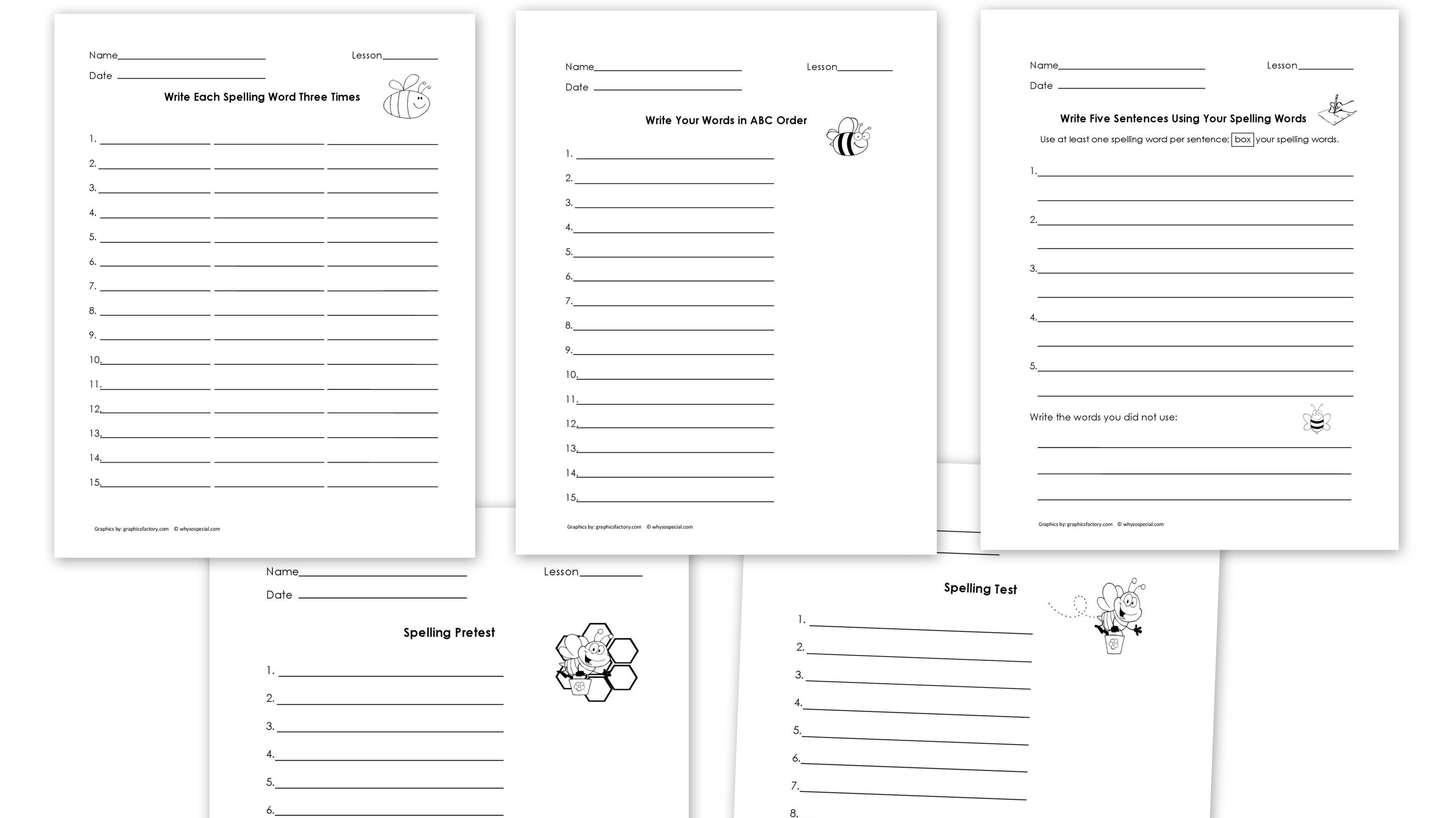 15 Best Images Of Short Vowel Review Worksheets