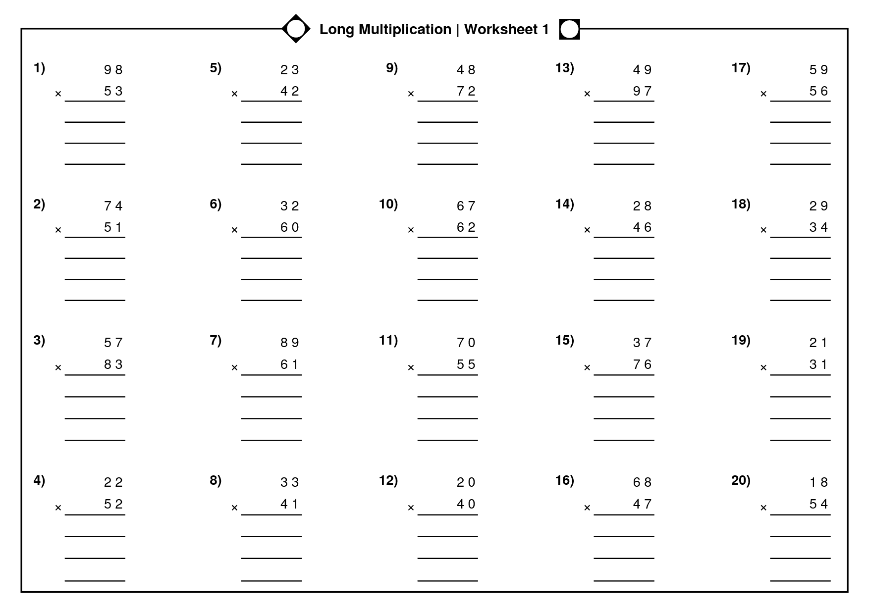 15 Best Images Of Math Arrays 3rd Grade Worksheets