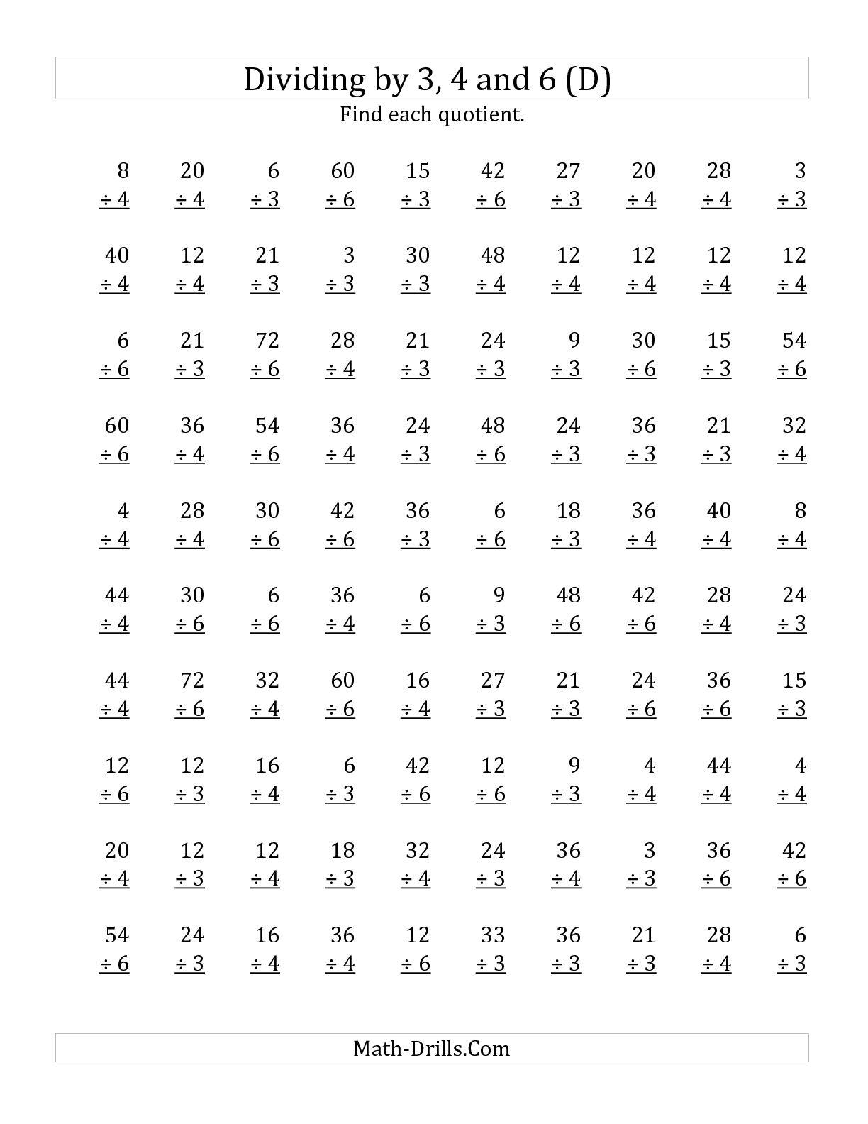10 Best Images Of 3rd Grade Multiplication Worksheets For