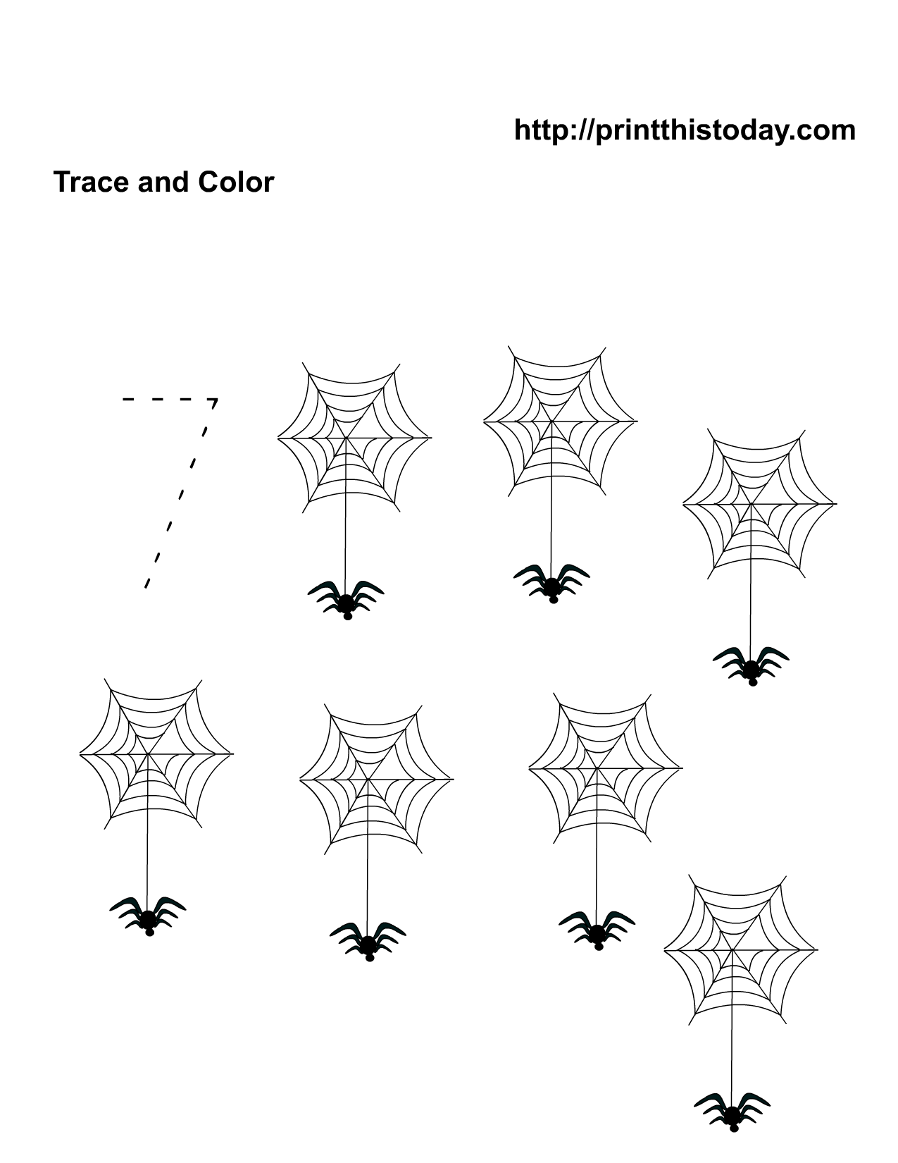 11 Best Images Of Free Halloween Worksheets Kindergarten