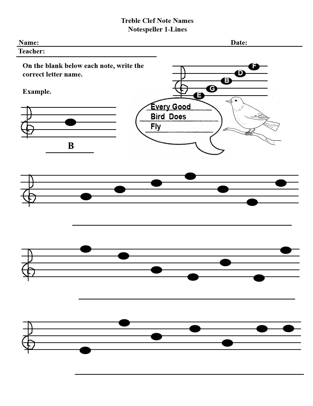 14 Best Images Of Elementary Music Note Worksheet