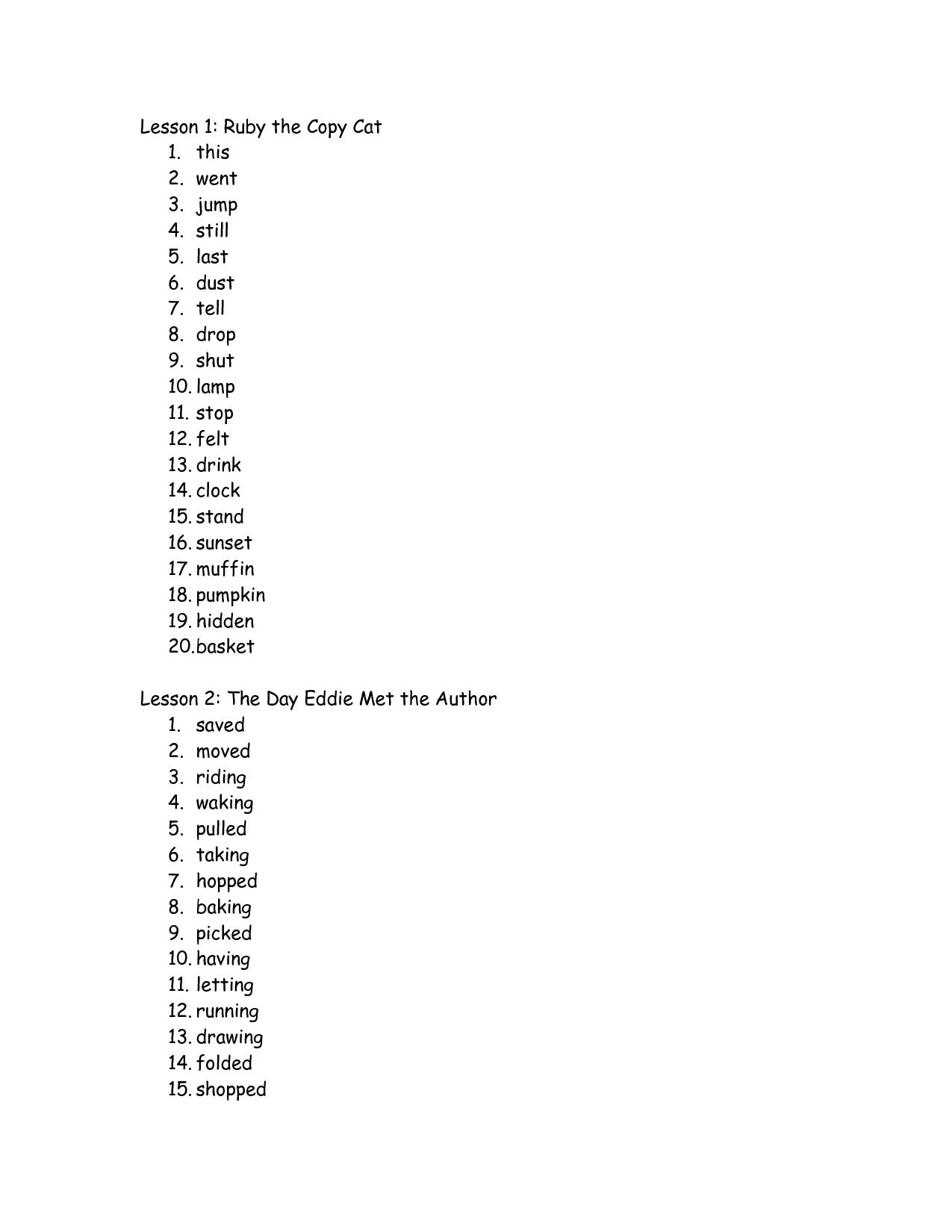 15 Best Images Of 3 Grade Spelling Worksheets