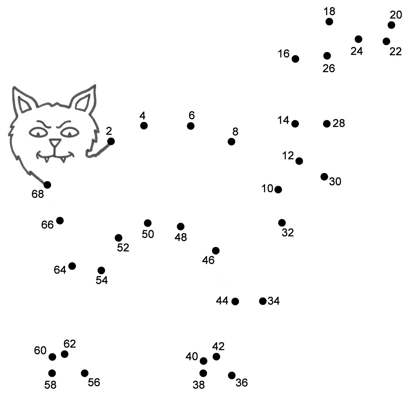 15 Best Images Of Pumpkin Dot To Dot Worksheet
