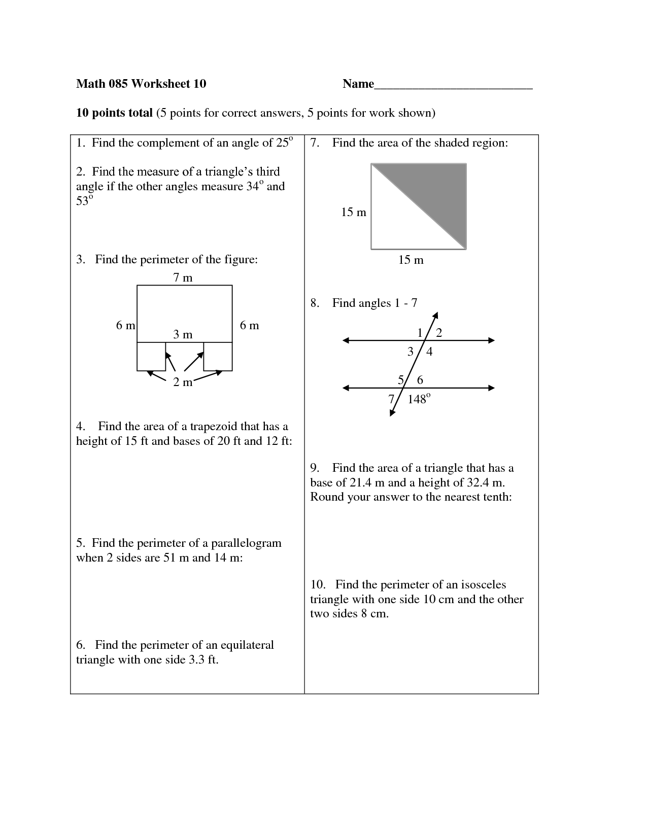 11 Best Images Of Classifying Triangles Worksheet 4th