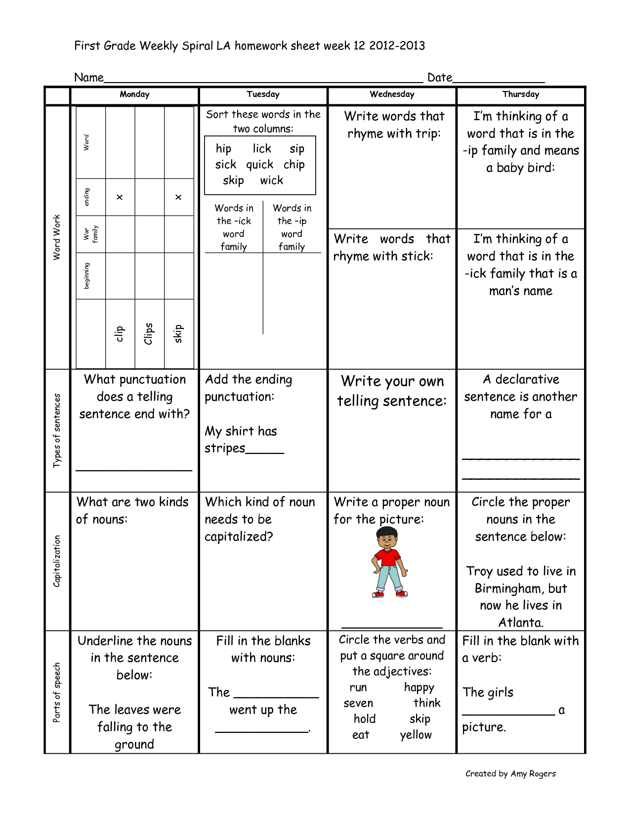15 Best Images Of First Grade Reading Fluency Worksheets