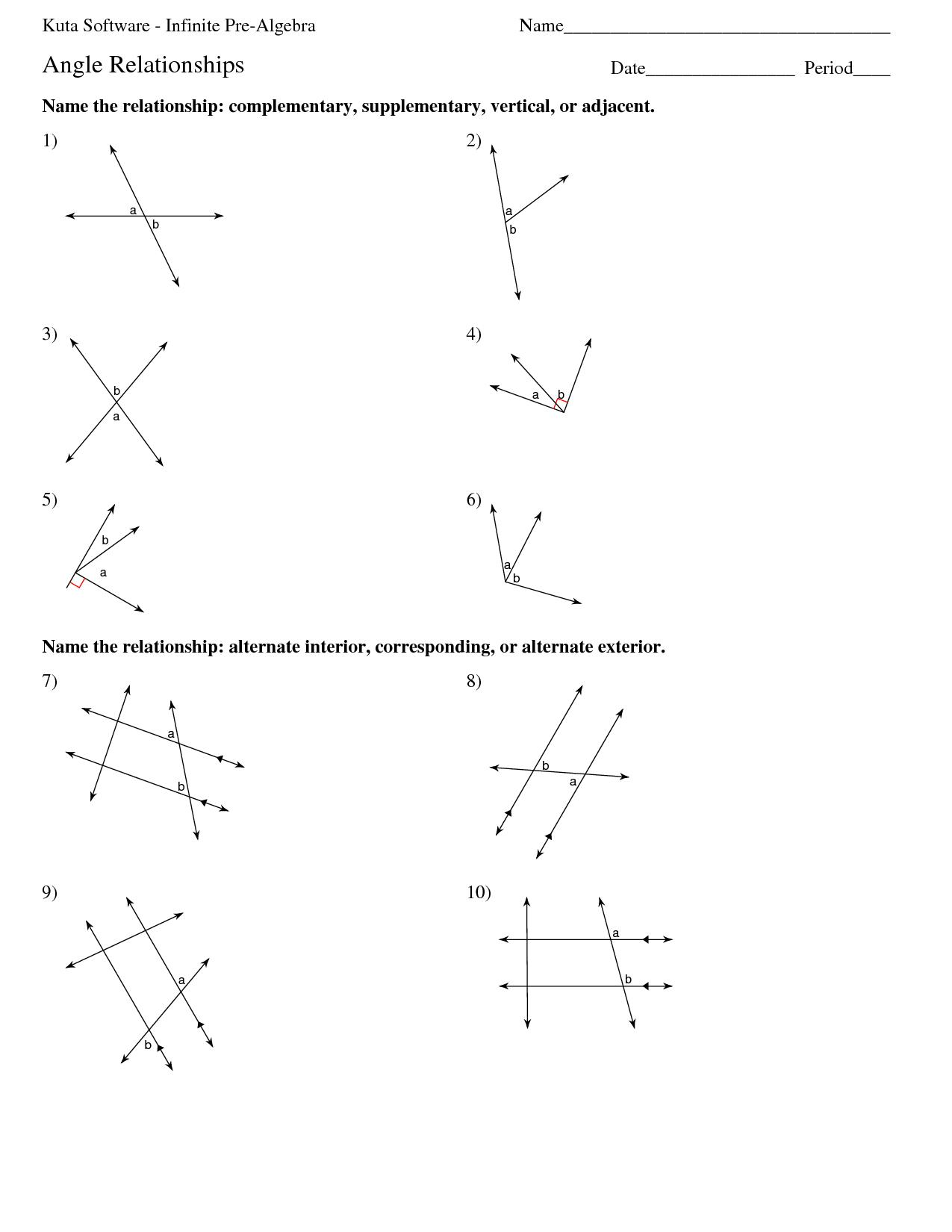 16 Best Images Of Infinite Algebra 1 Worksheets
