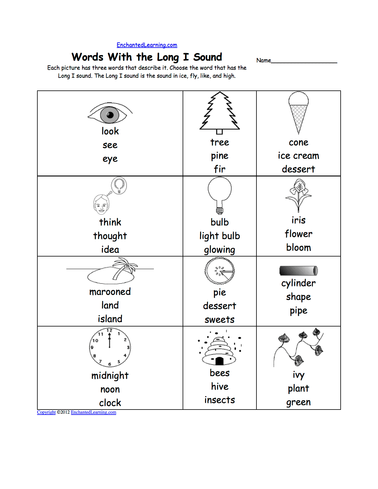 Ee And Ea Worksheets