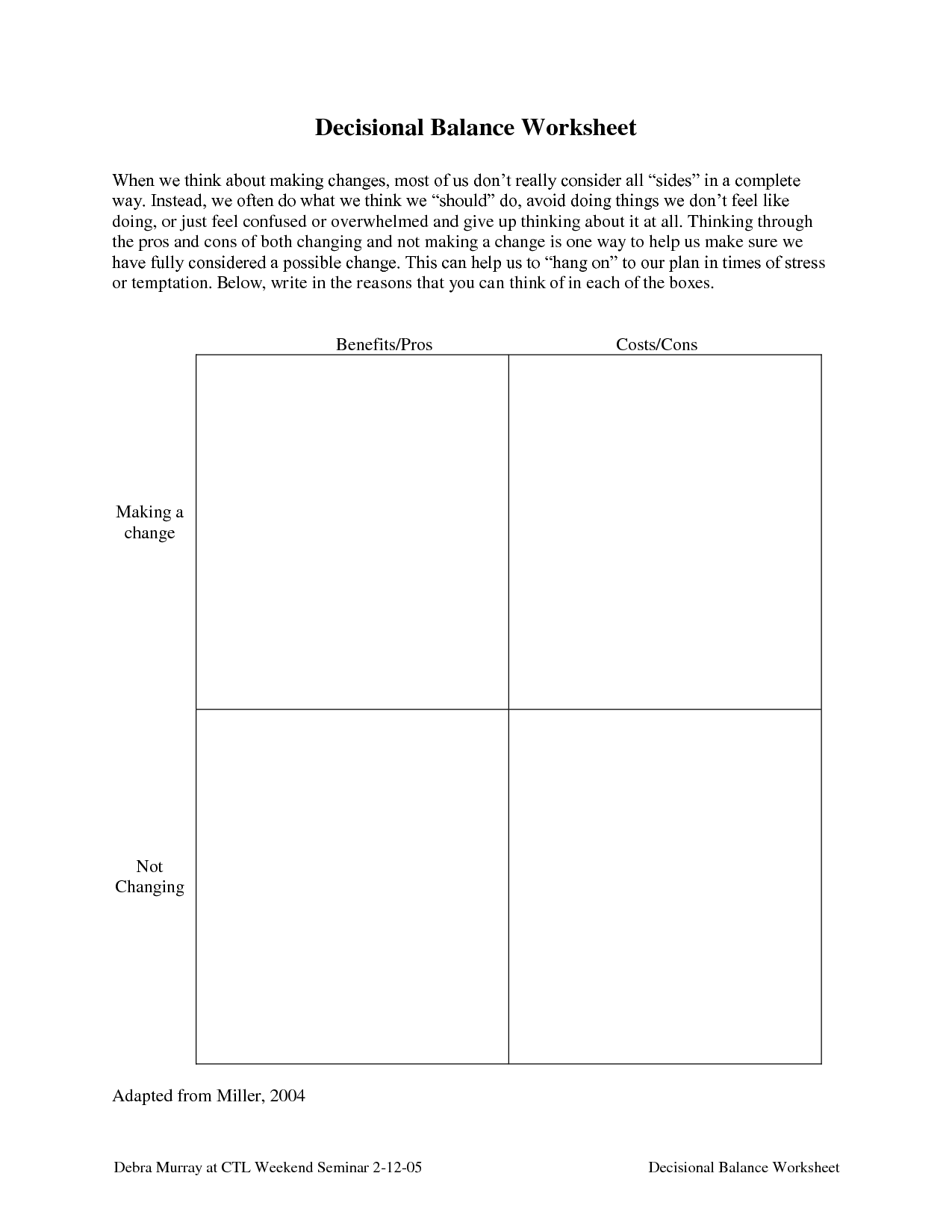 27 Stages Of Change Substance Abuse Worksheet