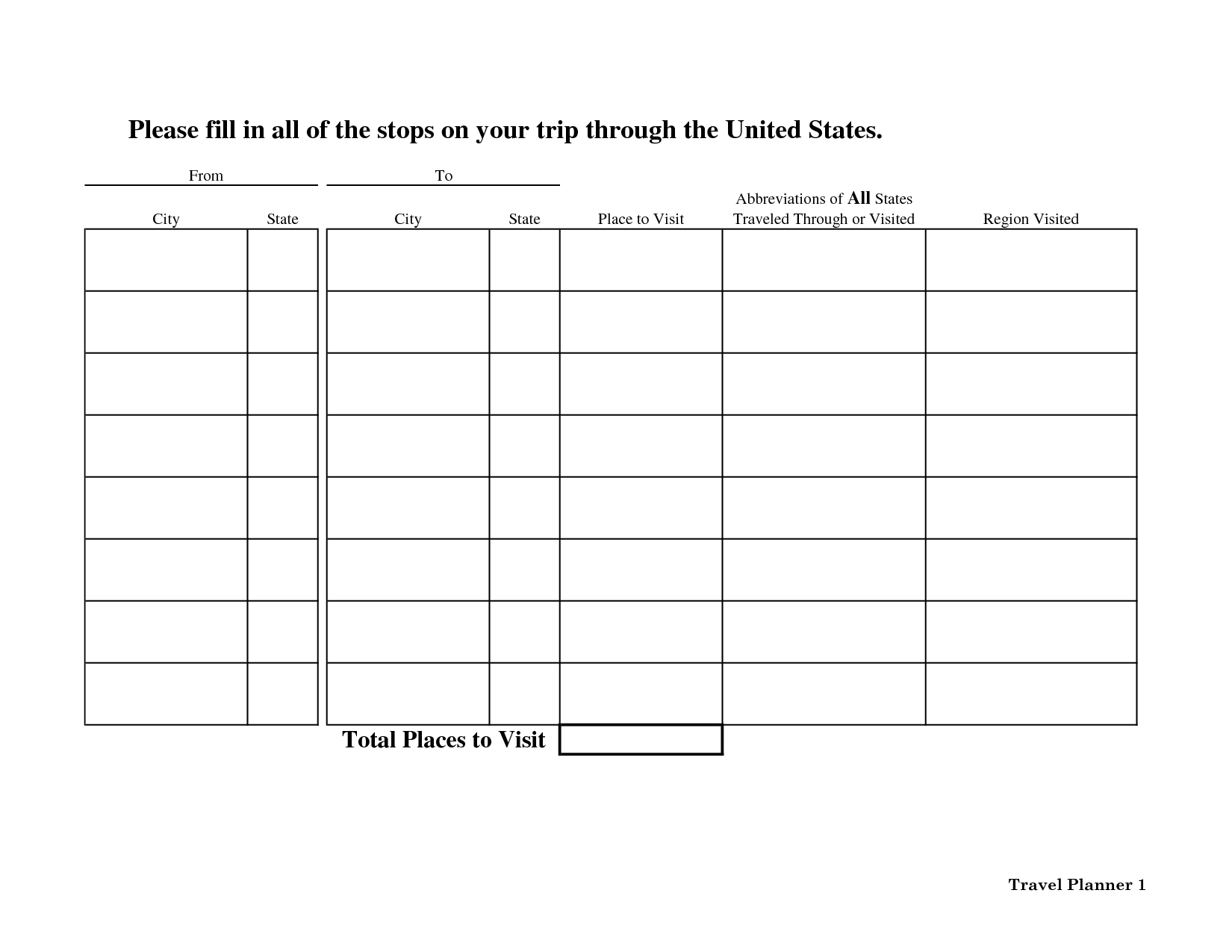 16 Best Images Of 50 States And Capitals Printable Worksheet
