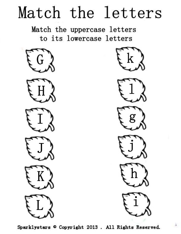 13 Best Images Of Pre K Matching Worksheets