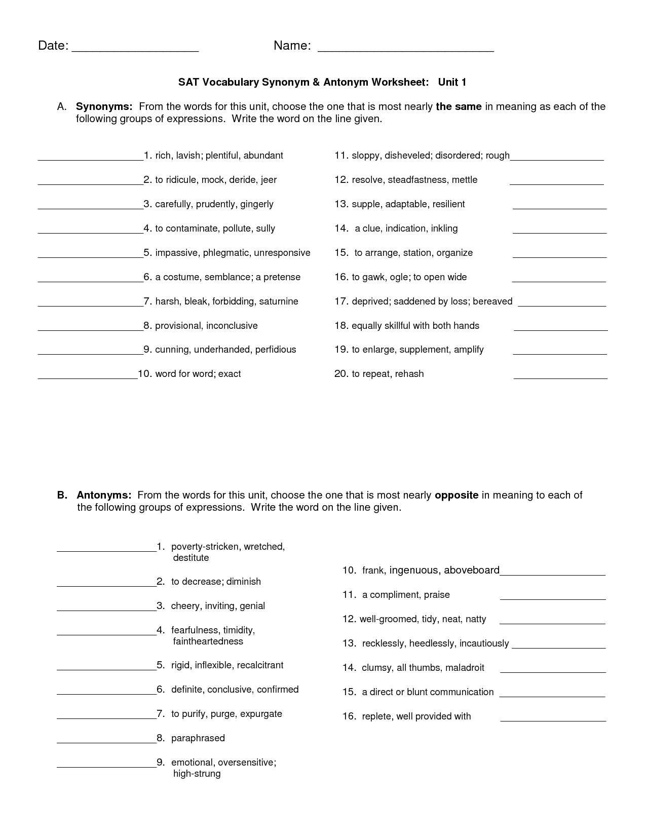 Other Worksheet Category Page 83