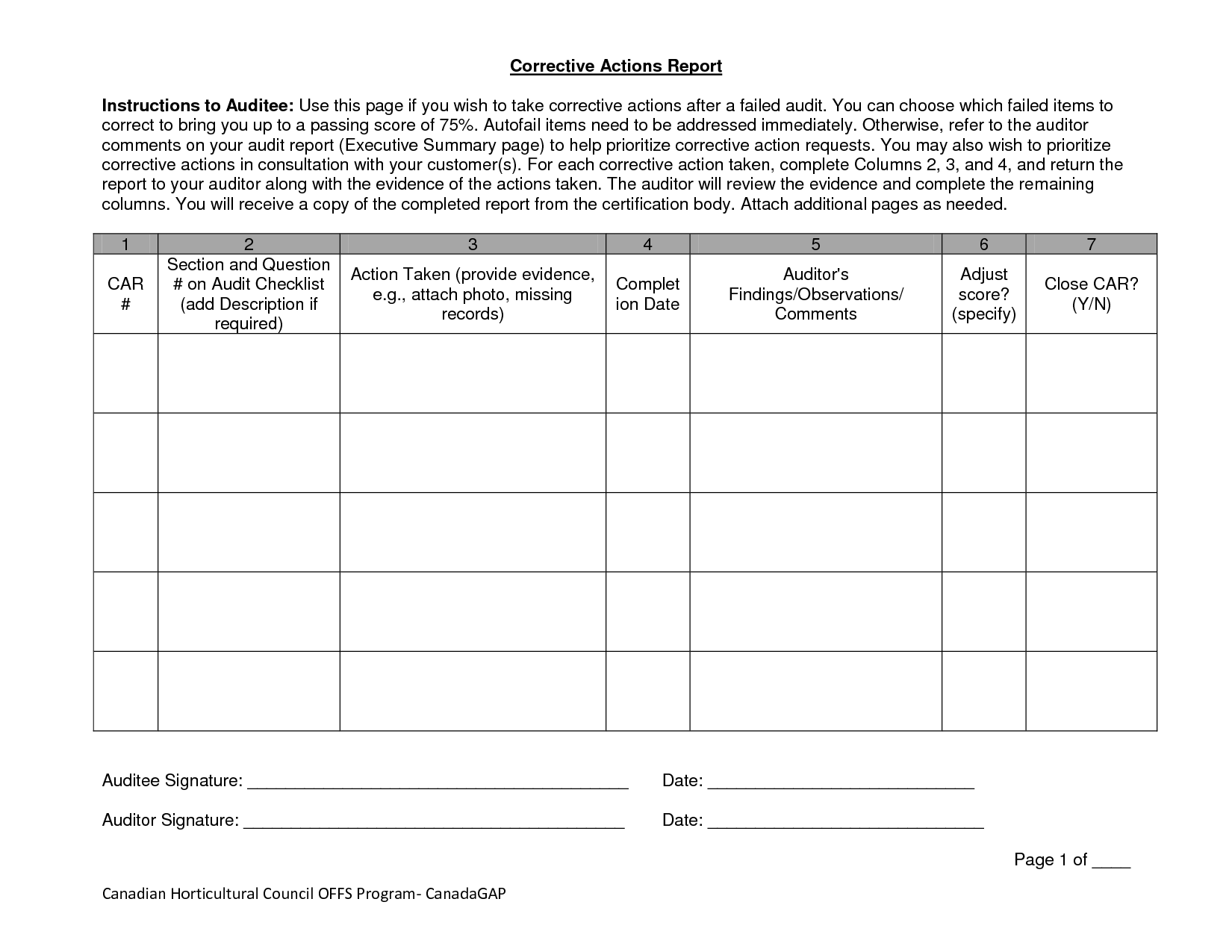 Personal Risk Assessment Worksheet